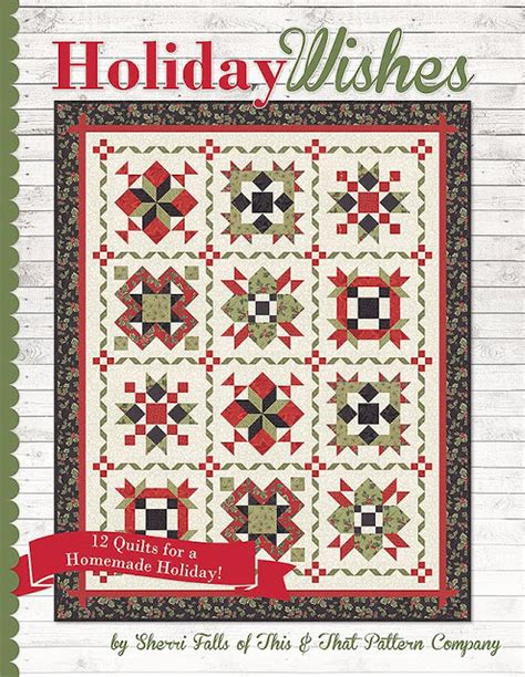 pattern companies holiday wishes book by sherri falls of this that pattern