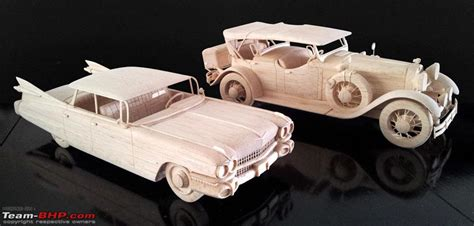 Handmade Model Cars - balsa cars handcrafted scale models of vintage cars
