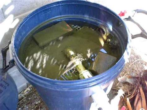 homemade fountain filter homemade free engine image for pond homemade bio filter part 5 youtube