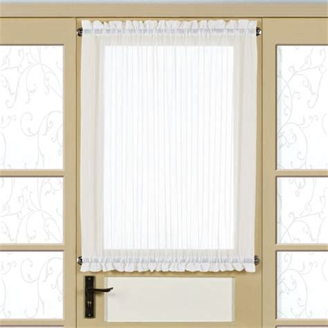 sidelight sheer curtains monte carlo sheer voile sidelight panel