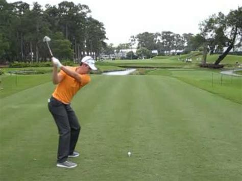 justin rose golf swing video justin rose driver swing dtl youtube