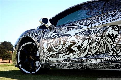 design graphics cars graphic art design car wrap black white very cool www
