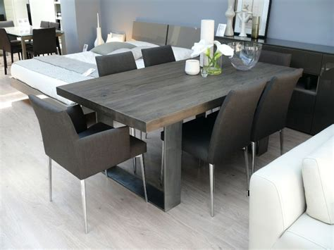 Solid Wood Dining Room Table And Chairs Best 25 Gray Dining Tables Ideas On Pinterest Gray