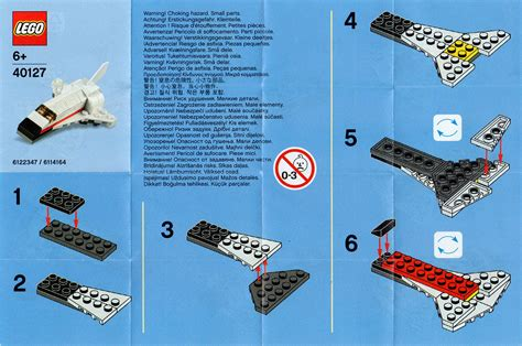 how to make space lego mini space shuttle toy soars out of stores in monthly