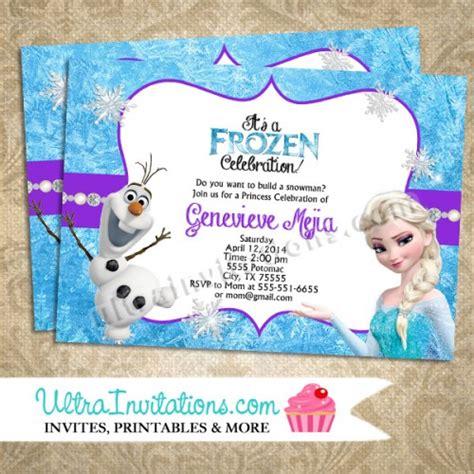 printable birthday party invitations frozen 7 best images of frozen birthday party invitations free