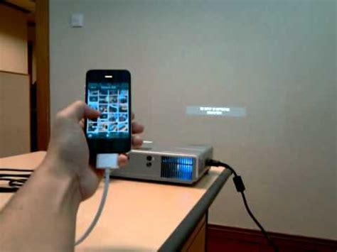 how to connect android phone to projector iphone connect to projector