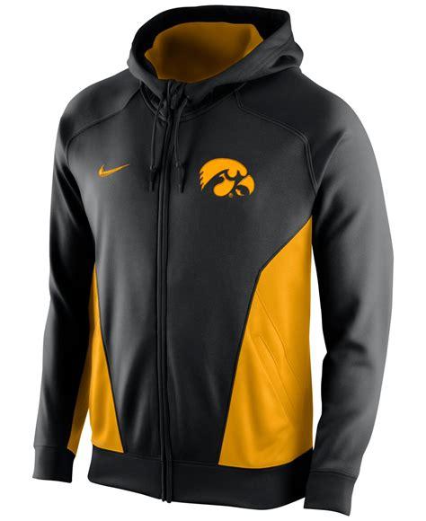 Vest Hoodie Rompi Hoodie Zipper Nike Logo 1 King Clothing nike s iowa hawkeyes performance zip hoodie in yellow for lyst