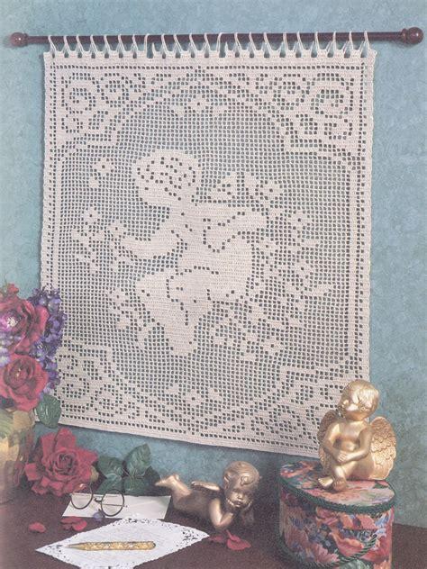 filet crochet patterns for home decor divine designs in filet crochet patterns book religious