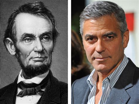 living relatives of abraham lincoln george clooney is abraham lincoln s distant cousin says