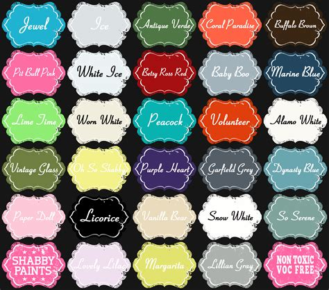 shabby chic paint colours shabby paints colors ideas new shabby paint colors