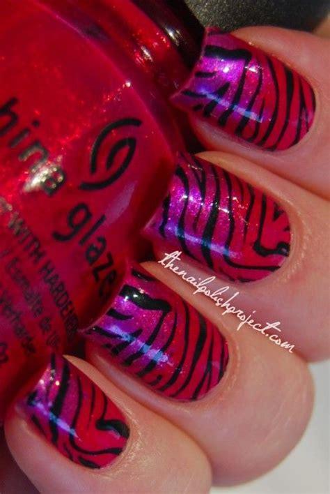 craft nail scotch tape zebra print manicure best 25 tiger stripe nails ideas on pinterest tiger