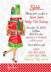 items similar to secret santa holiday gift exchange