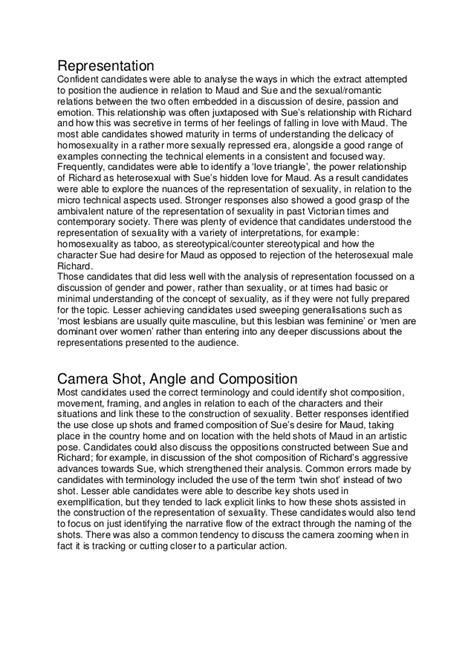 Fingersmith moderator report