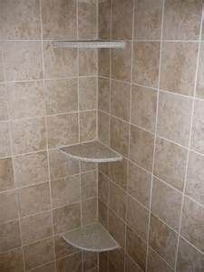 How To Install Corner Shelf In Tile Shower by Install Tile Corner Shelf In Shower Images
