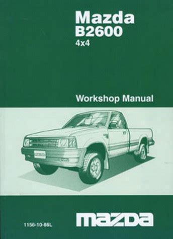 service manual service manuals schematics 1991 mazda b series engine control service manual item