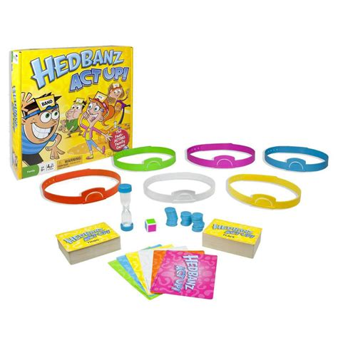 Hedbandz For spin master spin master hedbanz act up