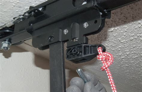 how to replace the motor on a chain drive garage door