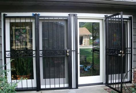 Glass Security Door Sliding Patio Security Doors Icamblog