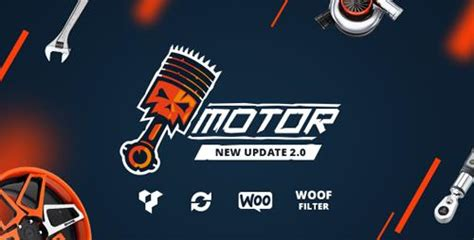 themeforest motors themeforest motor v2 0 vehicles parts equipments and