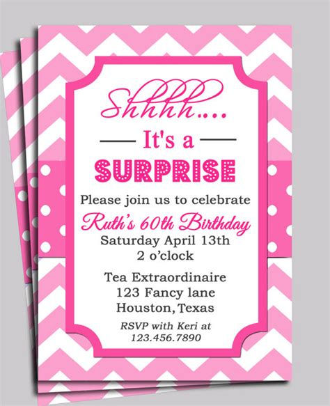 rsvp template for baby shower chevron invitation printable or free shipping you pick