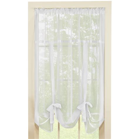 tie up shades curtains sheer tie up shade curtain by collections etc ebay