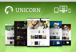 firefox themes unicorn chocolate wp responsive photography theme themekeeper com