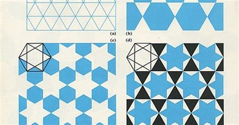 shape repeating pattern hexagon shapes repeating geometric shapes how to