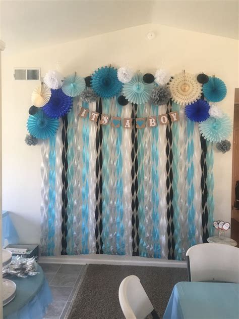 Ideas For Baby Boy Showers by Best 25 Baby Shower Backdrop Ideas On Pink