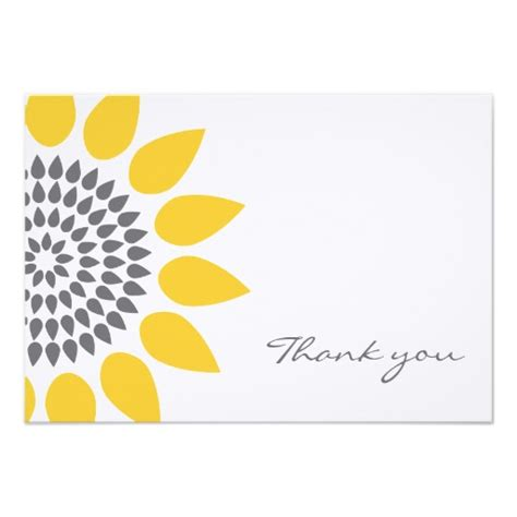 sunflower pictures for business card template sunflower thank you paper invitation card