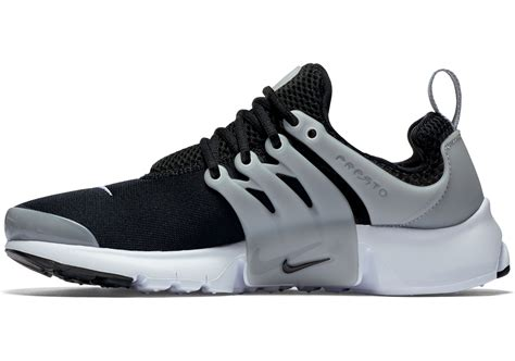 nike presto shoes nike air presto gs shoes grey black white
