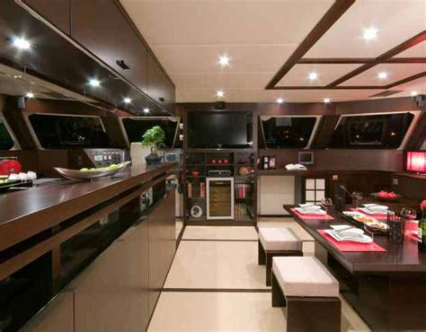 yacht galley layout sunreef 70 yacht galley yacht charter superyacht news
