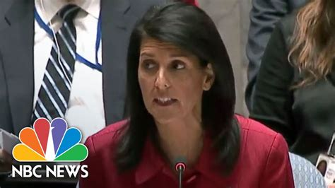 us news nbc news us ambassador nikki haley assad regime playing russia for