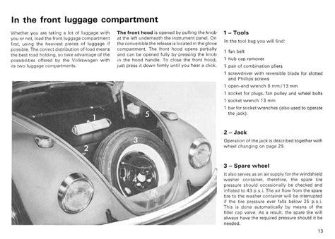 free online auto service manuals 1967 volkswagen beetle interior lighting service manual free car repair manuals 1967 volkswagen beetle engine control thesamba com vw