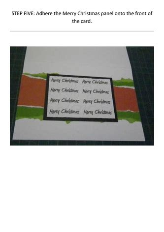embossed panel card templates 02097 merry cards craft n home