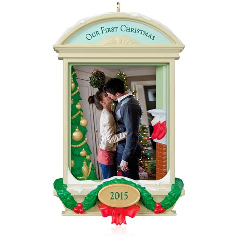 2015 our first christmas together hallmark keepsake