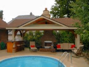 House Patio Designs Pool House Designs For Beautiful Pool Area Pool House