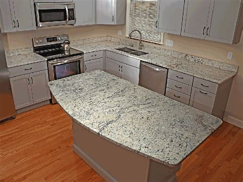 Oak Dining Room white ice granite countertops pictures cost pros and cons