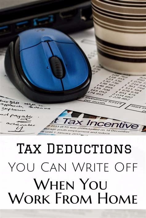 that you can work from home tax deductions you can write when you work from home