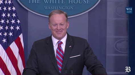 sean spicer how tall gronk crashes sean spicer s press briefing youtube