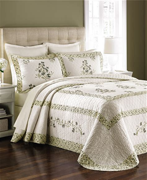 Size Bedspreads Only Martha Stewart Collection Garden King Bedspread