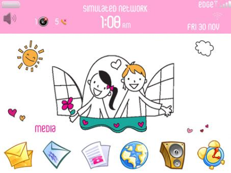 free doodle theme for blackberry doodle blackberry themes free blackberry apps