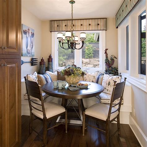breakfest nook breakfast nook traditional kitchen portland by