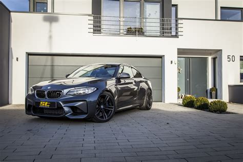 Bmw M2 Tieferlegen by St Springs And Wheel Spacers Are Available For Bmw M2 Kw