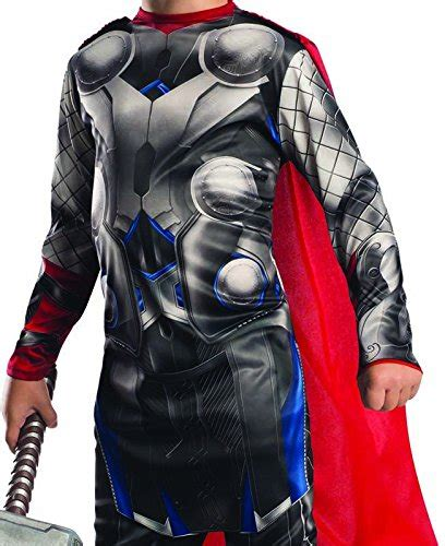 officially licensed marvel asgardian ruler thor child boys costume walmart rubie s costume 2 age of ultron child s thor costume medium apparel accessories