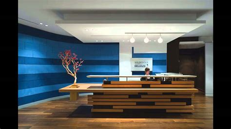 Office Wall Design by Reception Office Design Ideas Youtube