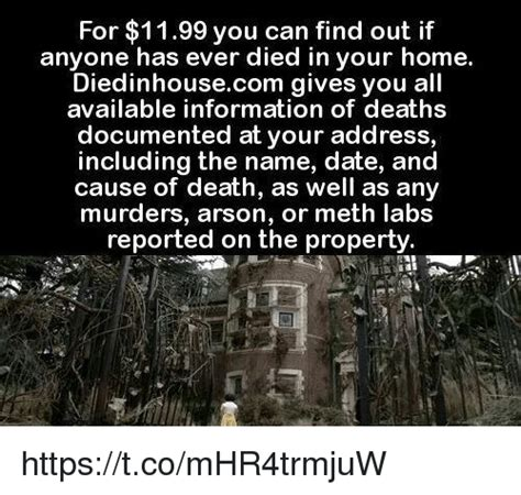 Diedinhouse Com by 25 Best Memes About Cause Of Death Cause Of Death Memes