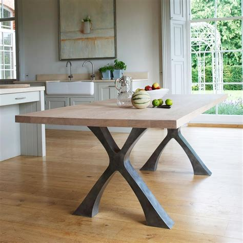 dining tables with metal legs table legs pinterest