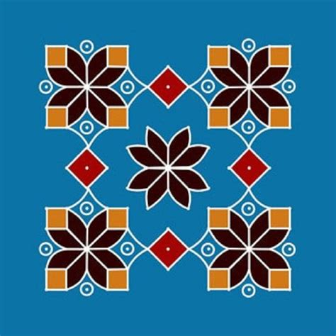 geometric pattern rangoli easy rangoli designs with dots