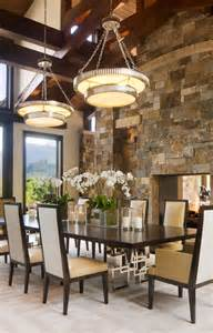 rustic modern dining room willoughby way by charles cunniffe architects keribrownhomes