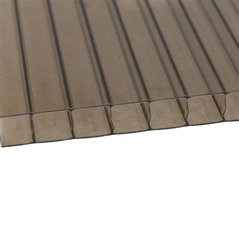 Roofing Sheets 10mm Bronze Polycarbonate Roofing Sheet